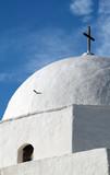greek church dome poster
