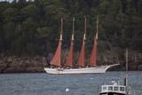 bar harbor schooner poster