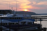 bar harbor sunset poster