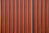 stock photo of a corrugated metal red background poster