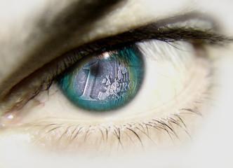 ojo con moneda
