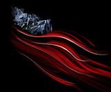 usa flag poster