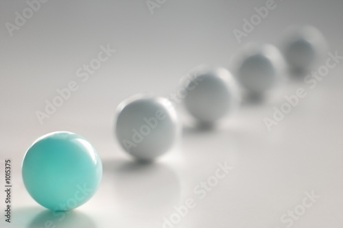 light blue ball