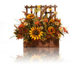 thanksgiving flowers poster