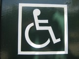 disable sign poster