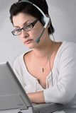operator is doing work poster