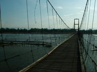 pont suspendu, thailande