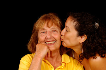 mothers day kiss