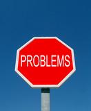 stop a los problemas poster