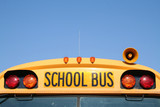 front of school bus poster