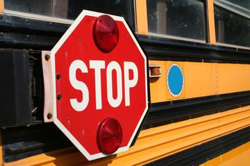 side of schoolbus