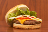 burger time poster