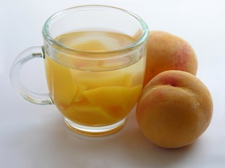 peaches and peach compote