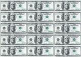 hundred dollar notes poster