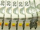 twenty canadian dollar bills poster