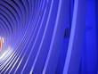 blaue lichtbögen