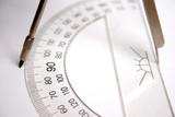 ruler and compasses poster