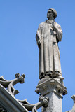 stone statue poster