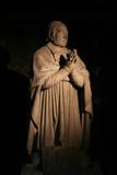 statue praying poster