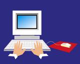 home computing poster