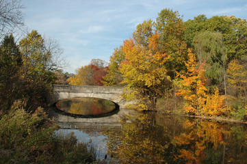 genesee valley park in fall