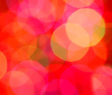 abstract christmas lights blur poster