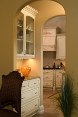 kitchen doorway