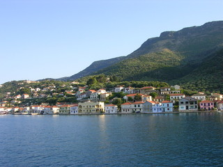 town in greece