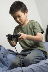 asian boy gamer