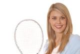tennis girl five poster