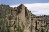 yellowstone cliffs poster