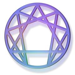 enneagram 3d gel