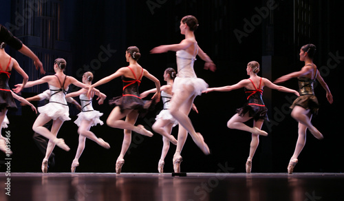 Leinwanddruck Bild ballet