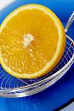 half of orange poster