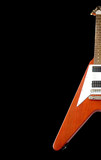 "classical ""flying v"" guitar (with clipping path)"