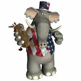 political voodoo - republican poster