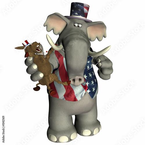 poster of political voodoo - republican