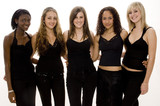 five girls poster