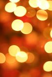 christmas light blur poster