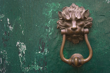 lion's head door knob