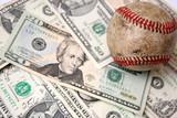 baseball and dollars poster