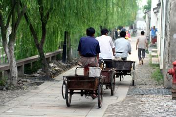 transporteur à biclyclette