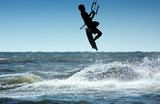 kite boarder poster