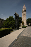 statue split croatia poster