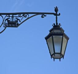 street lamp of lisbon