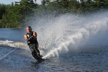 summer water skiier