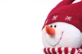festive snowman poster