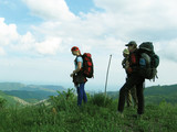backpacking in the crimea poster