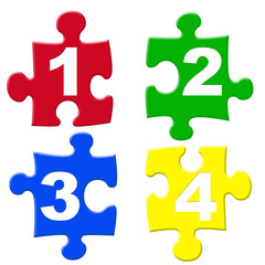 number jigsaw pieces