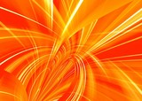 sunny abstract poster